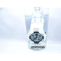 Casio G-shock Branco Ga 100 À Prova D