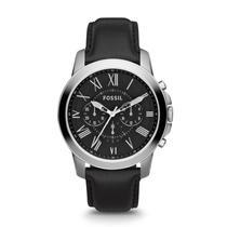 Relógio Fossil Grant Couro Fs4812 Original Garantia Br