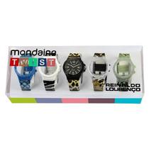 Relógio Mondaine Twist Troca Pulse Animal Print 78402l0mcnp2
