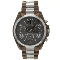 Relógio Michaelkors Bradshaw Mk5664 Orig Chron Anal Silver!!