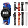 Relógio Infantil Technos Mariner Liga Da Justiça Mna559/8p