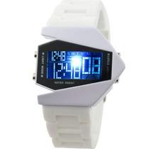 Relógio De Pulso Led Edição V 7 Cores Frete Grátis
