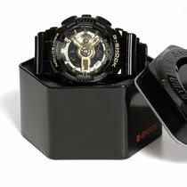 Relogio Digital Casio G-shock Original Preto Dourado Ouro