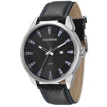 Relógio Mondaine Masculino Grande Pul. Couro 76406g0mvnh1 P