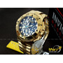 Invicta Excursion Reserve 15979 Skeleton Z60 Ban Ouro 50mm