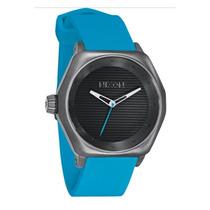 Relógio Nixon Fader All Gunmetal Sky Blue