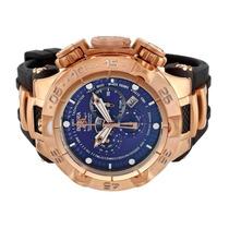 Relógio Invicta 12883 Subaqua Noma 5 V Azul Rosê Original !