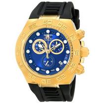 Relógio Invicta Sport Subaqua Cronógrafo Plaque Ouro 15580