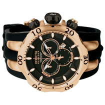 Relógio Invicta 10830 Reserve Venom Preto/rosê Original Novo