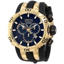 Relógio Invicta 10833 Venom Reserve Preto E Dourado Completo
