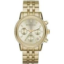 Relógio Michael Kors Goldtone Mk5698 Com Caixa