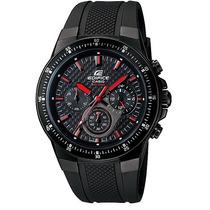 Relogio Casio Ef 552pb-1a4 Aço Negro/borracha Crono Wr100m