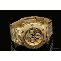 Relógio Invicta 1568 Reserve Subaqua Gold Paris