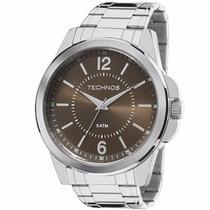 Relógio Technos Masculino Prata Classic Steel 2035mde/1m