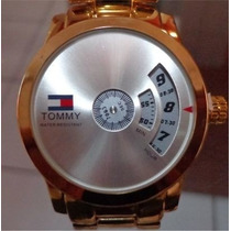 Relogio Masculino Tommy Hilfiger Dourado Luxo Frete Gratis