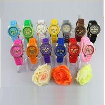 Relógio Feminino Michael Kors Pulseira Silicone C/ Caixa