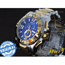 Invicta Excursion Reserve 15330 Duo Tone Polido - Blue 18k