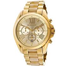 Relógio Michael Kors Mk5722 Dourado Madreperola Lançamento