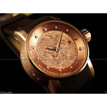 Invicta S1 Yakuza 18k Rose Gold 24j Automatic Sedex Gratis