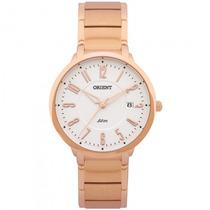 Relógio Orient Frss1017 S2rx Feminino Dourado Rosê- Refinado