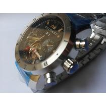 Relógio Bvgari Masculino Automatico Sedex 12x Sem Juros Bv B