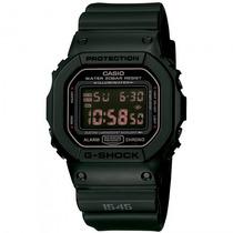 Relógio Casio Dw-5600ms-1dr G-shock Militar - Refinado