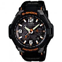 Relógio Casio G-1400-1adr G-shock Gravitymaster - Refinado