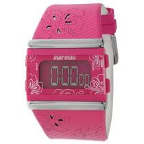 Relógio Feminino Mormaii Esportivo Rosa Digital Y9443a/8q