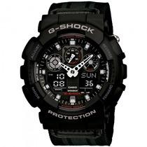 Relógio Casio Ga-100mc-1adr G-shock Militar Sport - Refinado