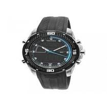 Relógio Masculino Technos Ca948b 8a Anadigi Multifunção 10 A