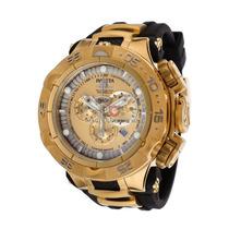 Relógio Invicta Subaqua Noma 5 V 15926 Ouro 18k Grande! 50mm