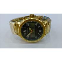 Relógio Original Atlantis Marinus Aço Dourado