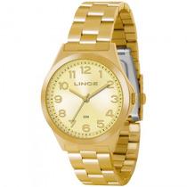 Relógio Lince Lrg4244l C2kx Feminino Dourado - Refinado