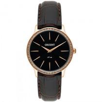 Relógio Orient Frsc0002 G1mx Feminino Dourado Rosê- Refinado