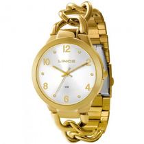 Relógio Lince Lrg4243l S2kx Feminino Dourado - Refinado