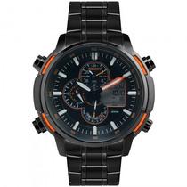 Relógio Orient Mpssa004 Popx Sport Masculino Preto- Refinado