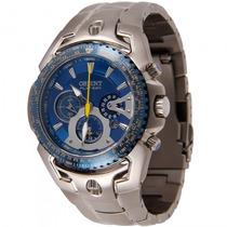 Relógio Orient Mbttc006 D1sx Masculino Titânio - Refinado