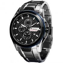 Relógio Orient Mbssc112 P1sx Masculino Prata - Refinado