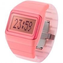 Relógio Odm O.sdd99b-3 Bxri Digital Feminino Rosa - Refinado