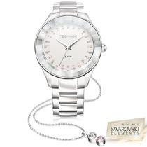 Relógio Technos Elegance Swarovski Modelo 2035ltw/1k