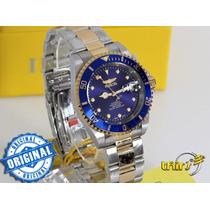 Invicta Original Pro Diver Automatico 17045 Azul Tamh 40mm