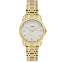 Relógio Feminino Orient Dourado C/ Calendário Fgss1082 S2kx