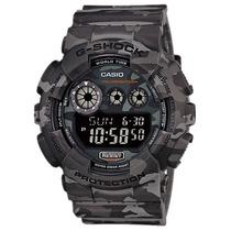 Relógio Casio G-shock Gd 120cm 8dr Alarmes Wr200m Nf-e