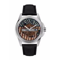 Relógio Bulova Harley Davidson - Wh30493t - Garantia E Nf