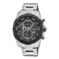 Relógio Technos Os10dx/1p Cronógrafo Cor Prata 12x Sem Juros