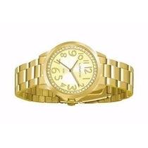 Relógio Feminino Lince Orient Dourado Lrgj032l Prova Dágua