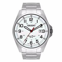 Relógio Orient Masculino Aço Calendário Wr 50m Mbss1171 S2sx