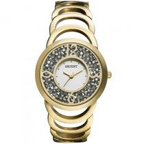 Relógio Orient Fgss0035 S2kx Feminino Dourado - Refinado