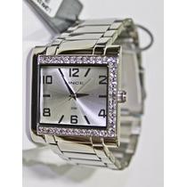 Relógio Lince Dourado Feminino (orient) Lqmk032l Prova Dágua