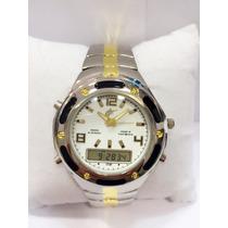 Relógio Masculino Potênzia Ponteiro Com Digital Promoção